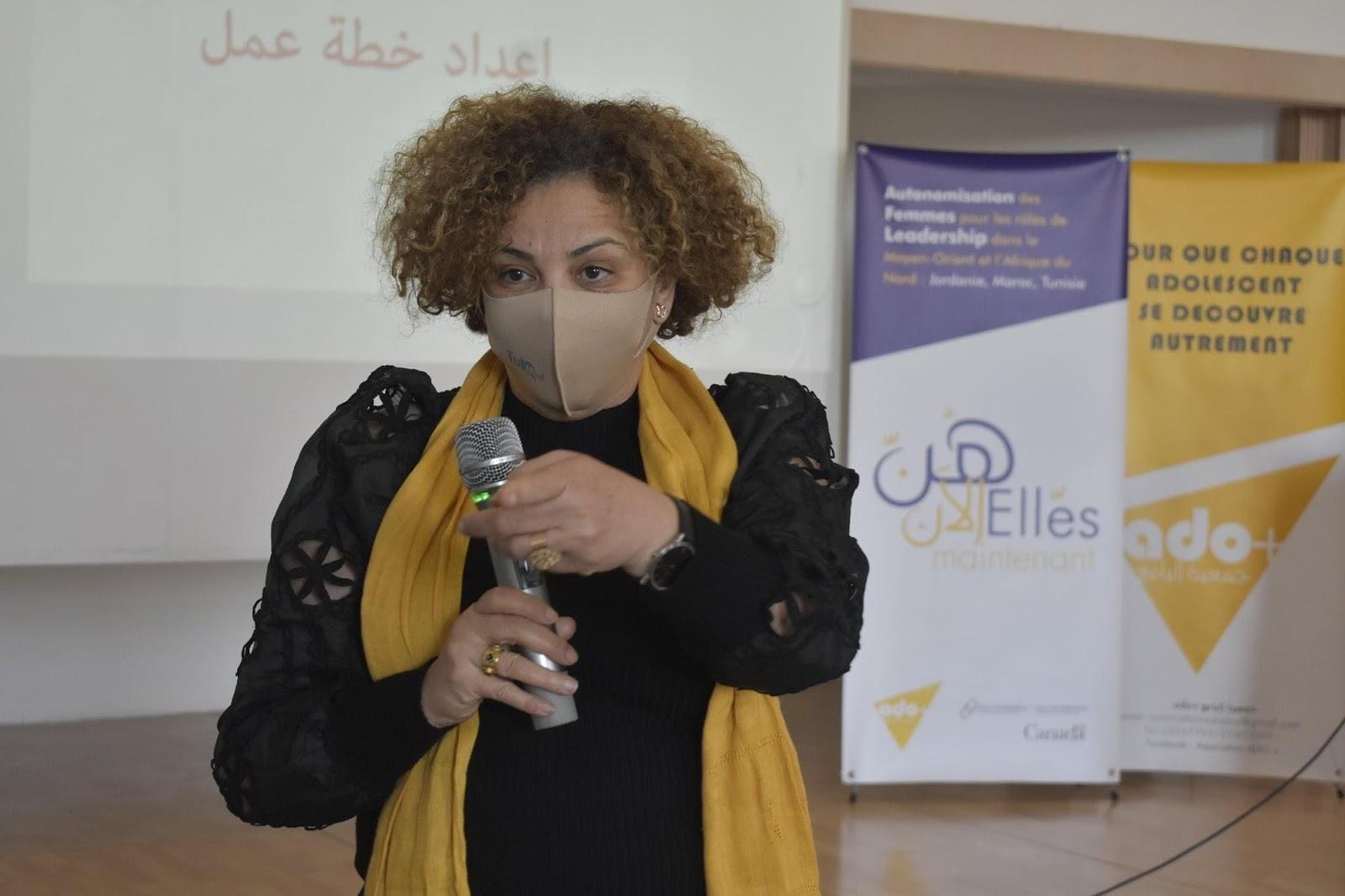 حوار مع هادية بن حاج يوسف، ناشطة في مجال حقوق الإنسان و المرأة