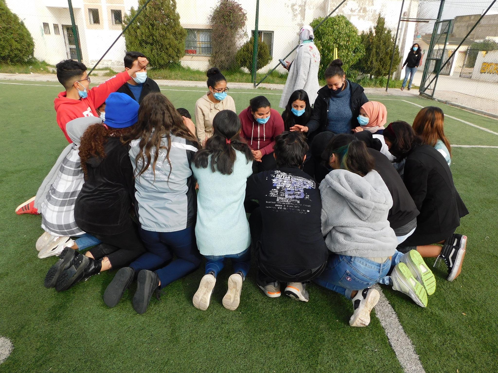 Projet Shabab : la deuxième séance de formation organisée en faveur des adolescent.e.s de Manouba