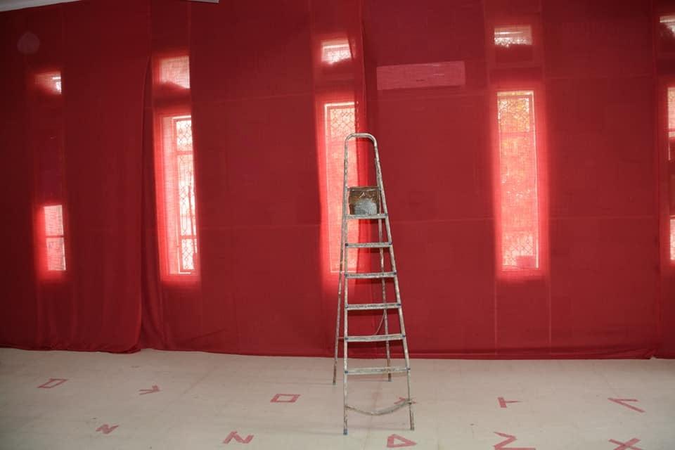 Projet Shabab : Réaménagement d'une salle du théâtre au complexe d'enfance de Douar Hicher