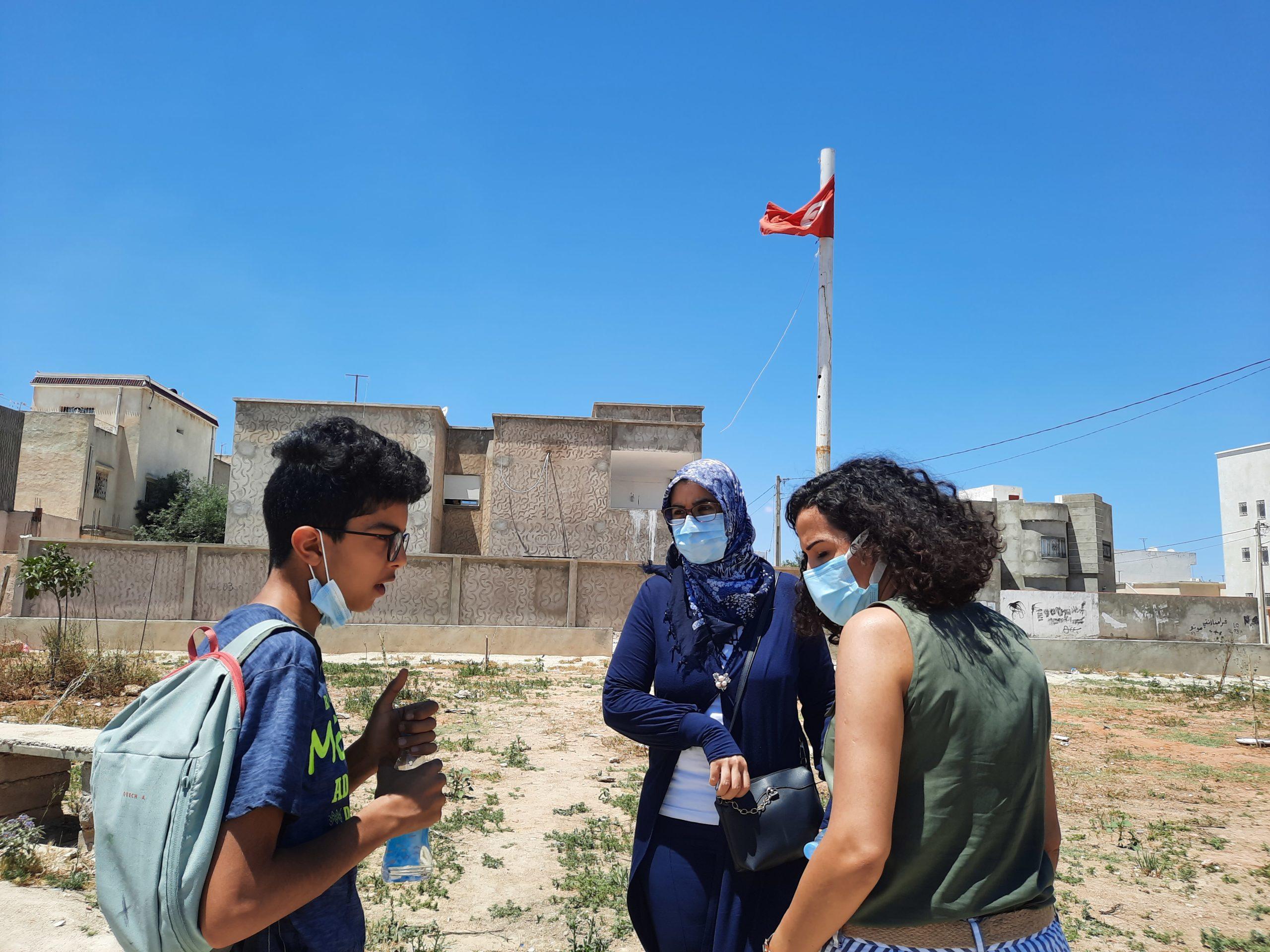 Projet Shabab : Une visite de terrain à Manouba et Douar Hicher