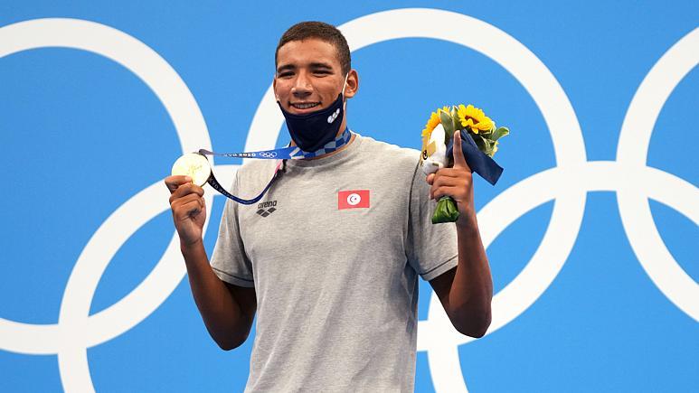 التونسي أحمد أيوب الحفناوي أصغر رياضي عربي يتوج بميدالية ذهبية أولمبية في تاريخ الألعاب الاولمبية
